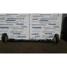 Балка задняя в сборе под барабаны Fiat Фиат Doblo 2000-2009 (223 кузов)