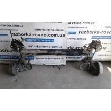 Балка задняя Рено Renault Kangoo 2008-2014 в сборе под барабаны