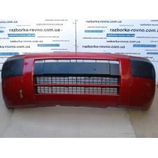 Бампер передний Peugeot Пежо Partner / Citroen Ситроен Berlingo 2004-2005 красный