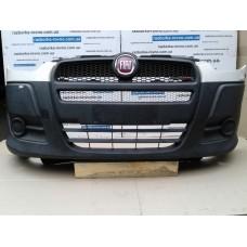 Бампер передний Fiat Фиат Doblo NEW 2010 и выше черный с белым