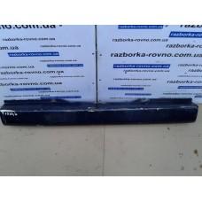 Бампер задний Mercedes Мерседес Vito 639 2003-2010 синий
