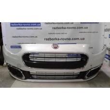 Бампер передний Fiat Punto Evo 2018 белый