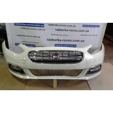 Бампер передний Fiat Фиат Viaggio 2015 белый