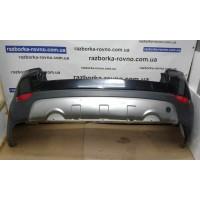 Бампер задний Chevrolet Шевроле Captiva 2006-2010 металлик с черным