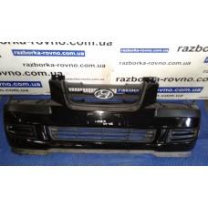 Бампер передний Hyundai Хюндай Matrix 2001-2005 черный