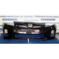 Бампер передний Toyota Тойота Prius 2009 черный