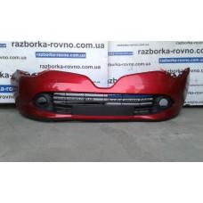 Бампер передний Renault Рено Clio 2011 красный