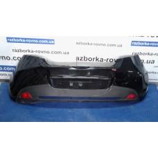 Бампер задний Mazda Мазда 2 2003-2018 черный