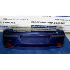 Бампер задний Opel Опель Corsa 2000-2005 темно-синий