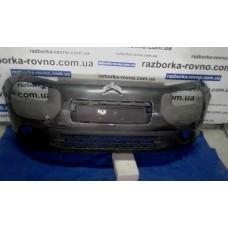 Бампер передний Citroen Ситроен Сactus 2015-2016 темно-серый