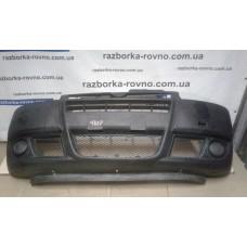 Бампер передний Fiat Фиат Doblo 2006-2010 черный