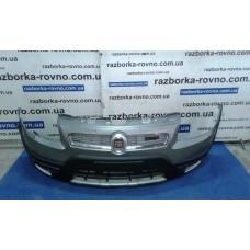 Бампер передний Fiat Фиат Sedici 2010 2.0 4х4 / Suzuki Сузуки Sx4 2006-2012 темно-серый