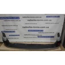 Бампер задний Renault Рено Kangoo 2003-2007 серо-голубой