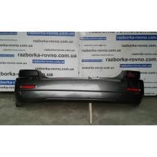 Бампер задний Kia Киа Sorento 2002-2009 серый