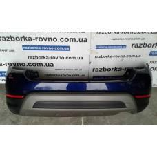 Бампер задний Fiat Фиат 500X Cross 2014-2018 синий с черным и серым