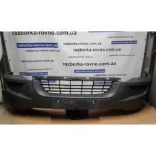 Бампер передний Volkswagen Фольксваген Crafter 2006-2011черный
