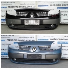 Бампер передний Рено Сценик Renault Scenic II 2003-2009
