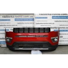 Бампер передний Jeep Compass 2018-2019 комплектный Джип Компас