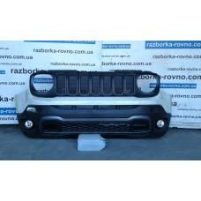 Бампер передний Jeep Renegade Trailhawk 2014-2017 Джип Ренегад Трайхолк комплектный