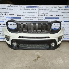 Бампер передний Jeep Renegade-2 Limited 2019 Джип Ренегад комплектный