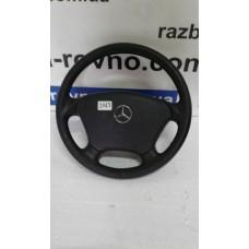 Безопасность airbag Mercedes Мерседес ML W163 2001-2005 водительский