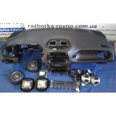 Безопасность airbag Jeep Джип Renegade комплект: торпедо, ремни безопсности, пиропатроны, Airbag