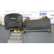 Безопасность airbag Jeep Джип GrandCherokee 1999-2004 2.7CRD комплект: пассажирский+ водительский+блок упр.Airbag
