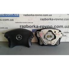 Безопасность airbag Mercedes Мерседес W203 2000-2004 (черный) водительский рестайлинг