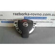 Безопасность airbag Nissan Ниссан Qashqai 2007-10 черный водительский 98510JD15D