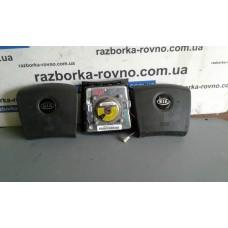 Безопасность airbag Kia Киа Sorento 2005 водительский (черный) 600992005Е