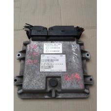 Блок управления двигателем Fiat Фиат Doblo 1.6 16Vгаз/бензин 2000-09 55187974