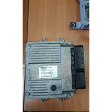 Блок управления двигателем (комплект) Fiat Фиат Fiorino / Citroen Ситроен Nemo Евро 4 1.3MJET 2007-17 51812866