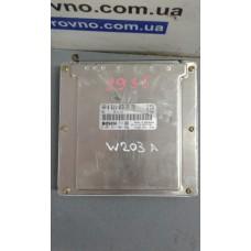 Блок управления двигателем Mercedes Мерседес W203 2.2 CDIA6111537779 0281011001