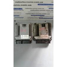 Блок управления двигателем Volkswagen Фольксваген Touareg 5.0 V10 TDI AYH 070906016D 0281010736
