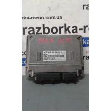 Блок управления двигателем  Skoda Шкода Fabia 2 1.2 2007-10 03E906023B