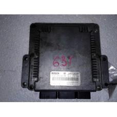 Блок управления двигателем Renault Рено Scenic 1.9 DCi 2002 0281010843 8200166496