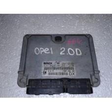 Блок управления двигателем Opel Опель Astra G  1.7 2.0tdi 1998-05 0281001971