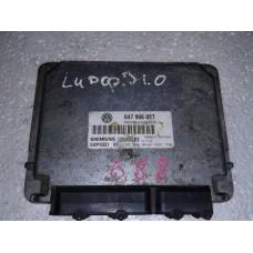 Блок управления двигателем Volkswagen Фольксваген Lupo / Seat Arosa 1.0 1999 5WP4331 02 047906027