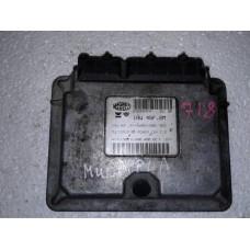 Блок управления двигателем Fiat Фиат Multipla 1.6i 1999-04 46761568