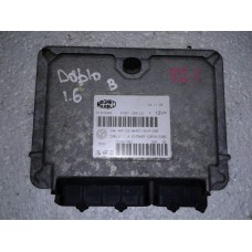 Блок управления двигателем Fiat Фиат Doblo 1.6 2000-05 51819344
