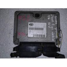 Блок управления двигателем Fiat Фиат Doblo 1.6i 2000-09 51786118 61601.295.01 5WVE7iS3H