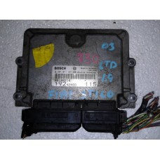 Блок управления двигателем Fiat Фиат Stilo 1.9 JTD 2003 0281011421