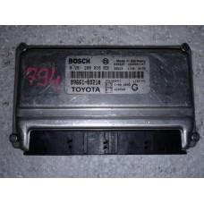 Блок управления двигателем Toyota Тойота Yaris 1.0 2003-05 0261208036
