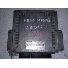 Блок управления двигателем  Renault Master II Opel Movano Nissan Interstar 2.5 dci 2003-10 0281010784 8200132188