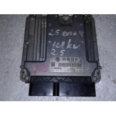 Блок управления двигателем Volkswagen Фольксваген T5 2.5 TDI 2003-09 070906016 0281010732