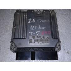 Блок управления двигателем Volkswagen Фольксваген T5 2.5 TDI 2003-09 070997016L 0281014049