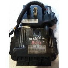 Блок управления двигателем  Renault Рено Master II / Opel Опель Vivaro / Movano 2.5DCI 1998-10 0281013363  8200635663