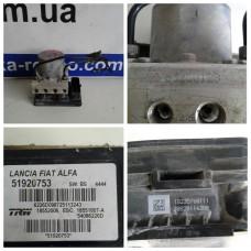 Блок управления ABS Fiat 500L, Lancia, Alfa 63230128 51920753 54086226D 30820114300 Фиат Лянча Альфа Ромео