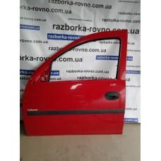 Дверь передняя левая Opel Опель Combo 2001-2012 красная