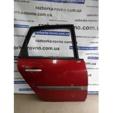 Дверь задняя правая Renault Рено Scenic, Megane 2004 красный